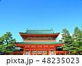 平安神宮 神社 神門の写真 48235023