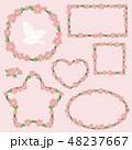 桜 花 春のイラスト 48237667