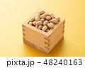 大豆 炒り豆 節分の写真 48240163