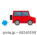 車 自動車 乗用車のイラスト 48240599