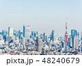都市 都市風景 高層ビル群の写真 48240679
