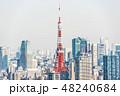 都市 都市風景 高層ビル群の写真 48240684