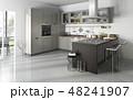 キッチン 厨房 台所のイラスト 48241907