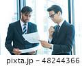 ビジネス ビジネスマン ミーティングの写真 48244366