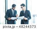 ビジネス ビジネスマン ミーティングの写真 48244373