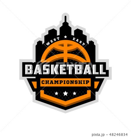 Basketball championship, sports logo, emblem. 48246834