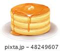 ホットケーキ イラスト 素材 48249607
