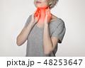 のど 喉 ネックの写真 48253647