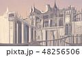 イラスト 背景 城 48256506