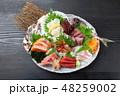 刺身 盛り合わせ 和食の写真 48259002