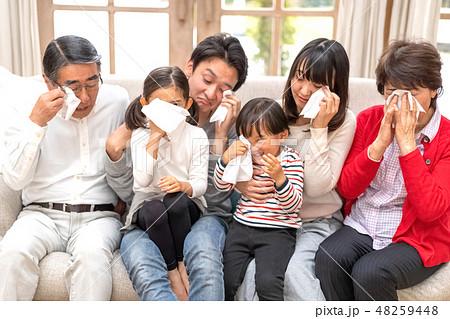 六人家族全員を襲ったスギ花粉症目のかゆみや鼻水が止まらないティッシュが手放せない 48259448