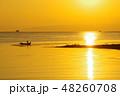 有明海の朝の風景15 48260708