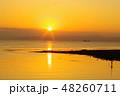有明海の朝の風景18 48260711