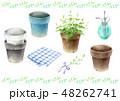 ガーデニング セット 植木鉢 植物 霧吹き 48262741