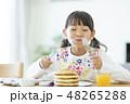 女の子 パンケーキ 48265288