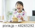 女の子 パンケーキ 48265292