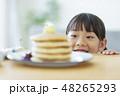 女の子 パンケーキ 48265293