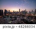ブルジュ・ハリファとドバイの都市風景・マジックアワー 48266034