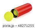 テニス 庭球 ボールのイラスト 48271255