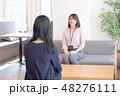 面談 ビジネス 女性の写真 48276111
