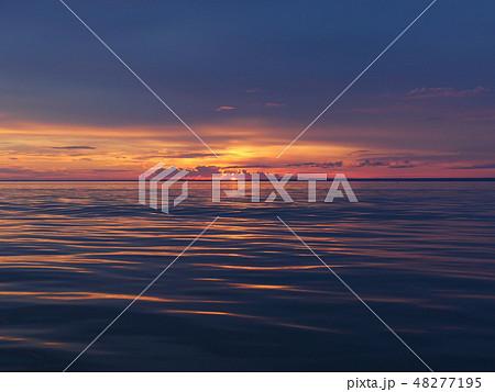 Twilight over the sea 48277195