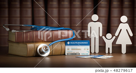 Medical health insurance concept.  48279617