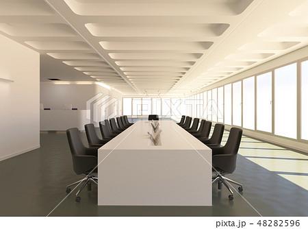 Office Photorealistic Render. 3D illustration. Meeting room. 48282596
