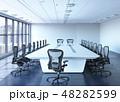 オフィス 会議 カンファレンスのイラスト 48282599