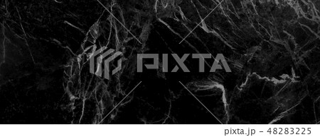 Black marble texture background 48283225
