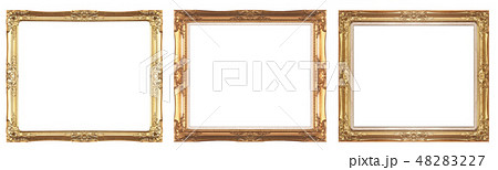 Gold picture frame 48283227