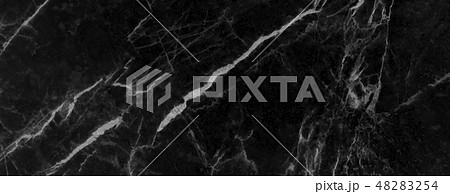 Black marble texture background 48283254