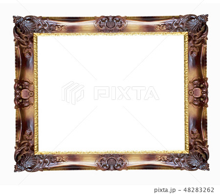 Gold picture frame 48283262