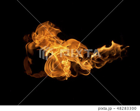 Fire flames background 48283300