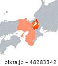 滋賀県地図と関西地方 48283342