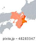 三重県地図 三重県 三重のイラスト 48283347