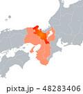 京都府地図 京都 地図のイラスト 48283406