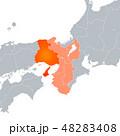 兵庫県地図と関西地方 48283408