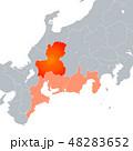 岐阜県地図 岐阜 岐阜県のイラスト 48283652