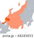 福井県地図 福井県 福井のイラスト 48283653