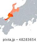 福井県地図 福井県 福井のイラスト 48283654