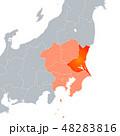 茨城県地図 茨城県 地図のイラスト 48283816