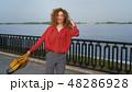 女 女の人 女性の写真 48286928