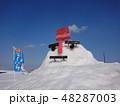 雪だるま どんでん平スノーパーク 48287003