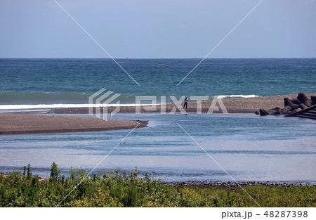 太平洋 綺麗な空雲海 48287398