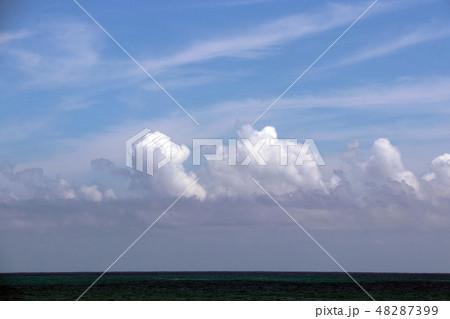 太平洋 綺麗な空雲海 48287399