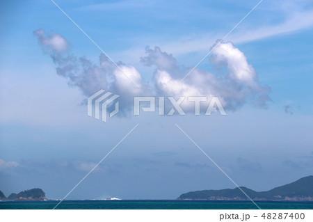 太平洋 綺麗な空雲海 48287400