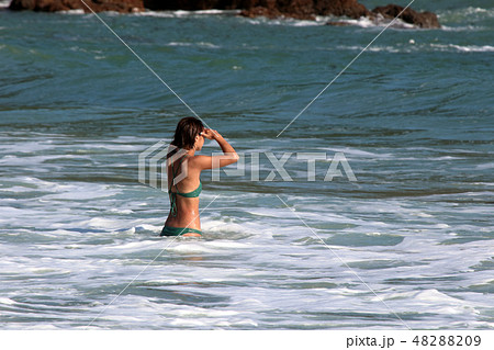 海水浴・夏だ~ 48288209
