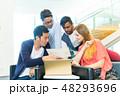 グローバルビジネス チームワーク 多国籍  外資系 ベンチャー IT 48293696