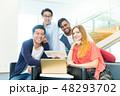 グローバルビジネス チームワーク 多国籍  外資系 ベンチャー IT 48293702