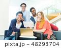 グローバルビジネス チームワーク 多国籍  外資系 ベンチャー IT 48293704